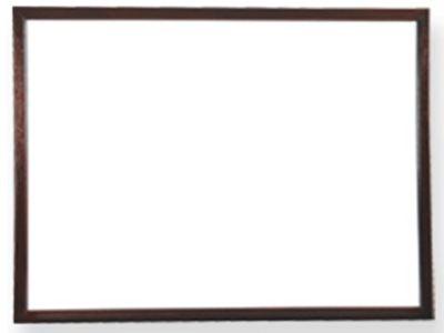 Wooden Dark Walnut Frame
