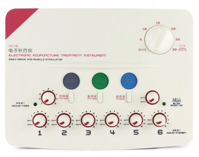 Hwato SDZ-2 Acupuncture Electric Nerve & Muscle Stimulator 6 Outputs 华佗治疗仪