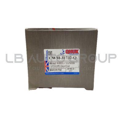 """CWM-31732-Q BRAKE WHEEL CYLINDER CANTER FB511 (Import F/Disc)(RR RH NO ADJ 1 1/4"""")"""
