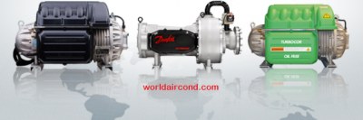 Danfoss-Turbocor-oil-free-compressors