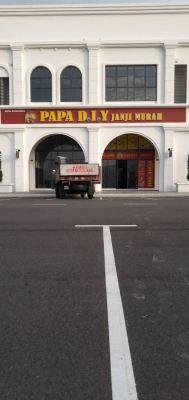 aluminium box up led frontlit - papa diy