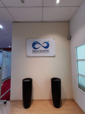 Nexus Scientific - Acrylic Signage