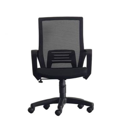 EDEX LOW BACK MESH CHAIR C/W POLYPROPYLENE BASE
