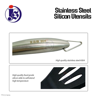 STAINLESS STEEL SILICON UTENSILS