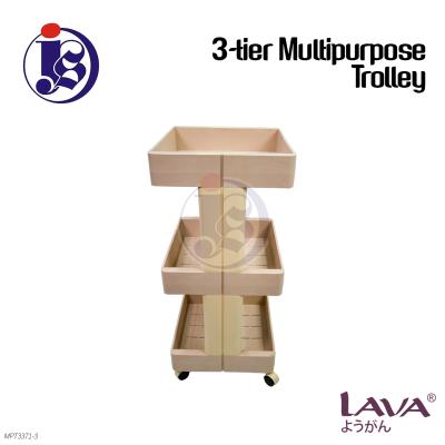 3-TIER MULTIPURPOSE TROLLEY