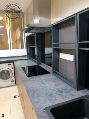 Custom Made Aluminium Kitchen Cabinet
