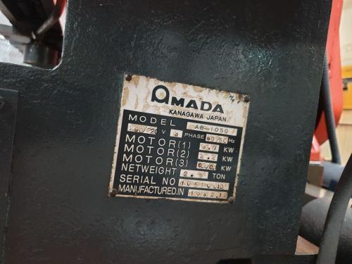 AMADA BEVELLING MACHINE