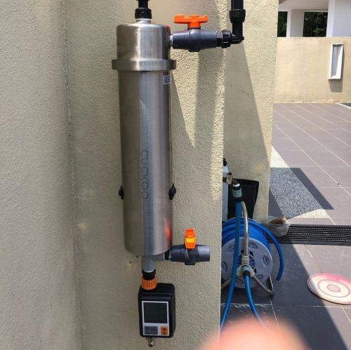 PrimeX1 Cuckoo Outdoor Filter rental installed at Skudai, Johor.