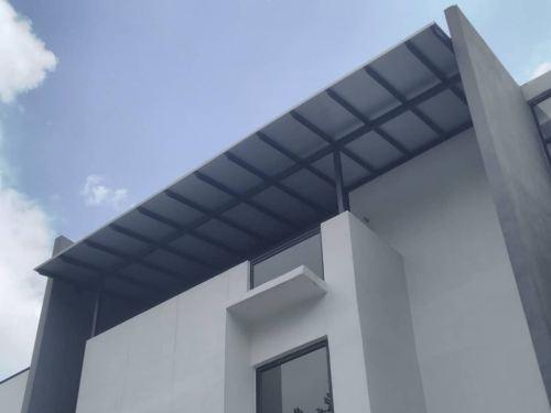 Alumbond Composite Panel @Jalan Bluconstellation 3A