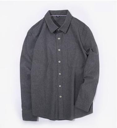 Casual Full Cotton Long Sleeve Uniform