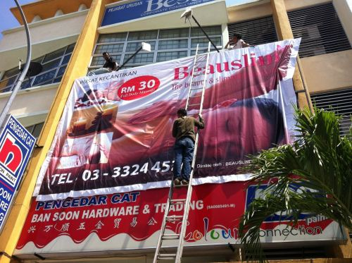 beauslim- Giant billboard signage